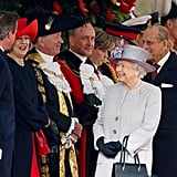 When the Queen and Prince Philip Were All Smiles Greeting Prime Minister David Cameron