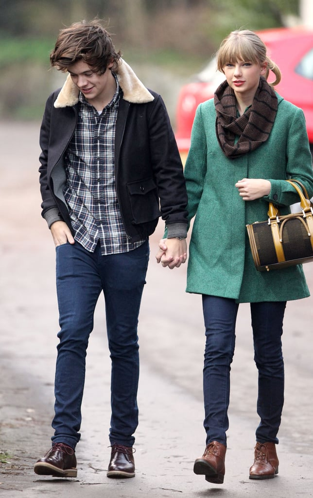 Taylor Swift and Harry Styles held hands.