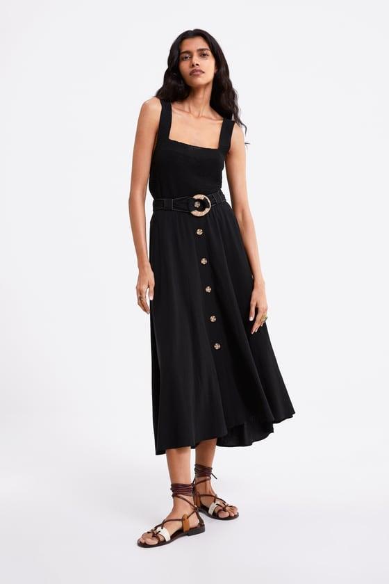 Zara Belted Skirt