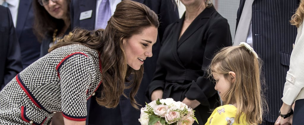 Kate Middleton Bonds With an Adorable Little Girl During a Museum Outing