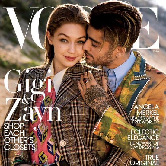 Gigi Hadid and Zayn Malik Vogue Cover August 2017
