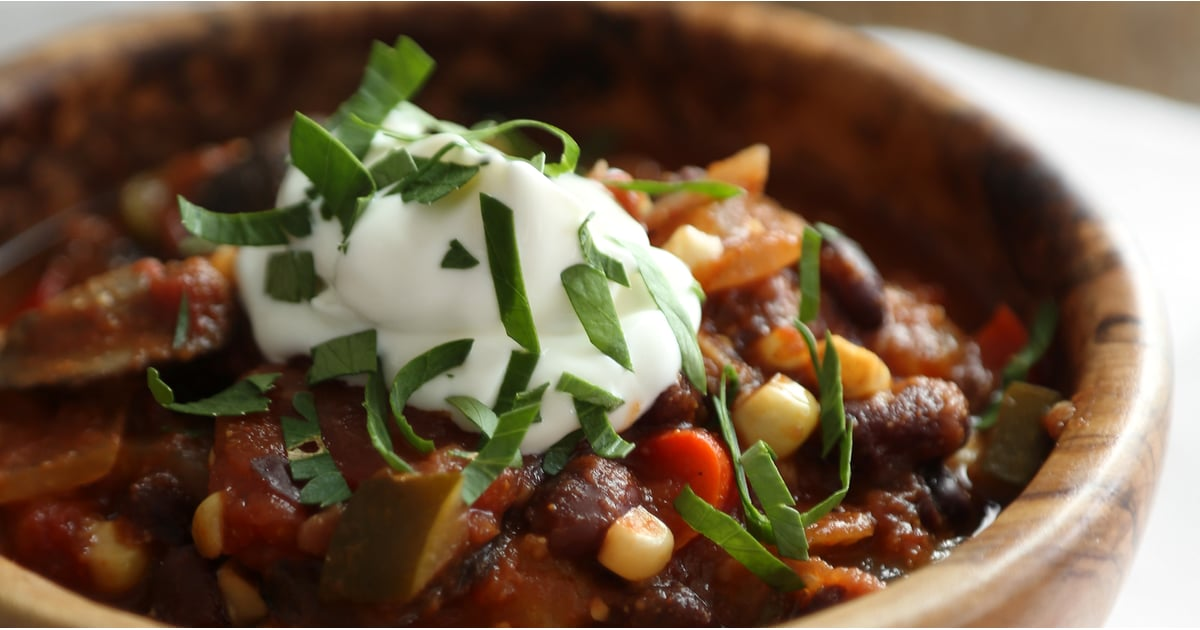 Best Vegetarian Chili Recipe Popsugar Food