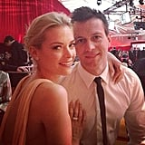Jaime King chose Chanel for her Oscars night out. Source: Instagram user jaimeking
