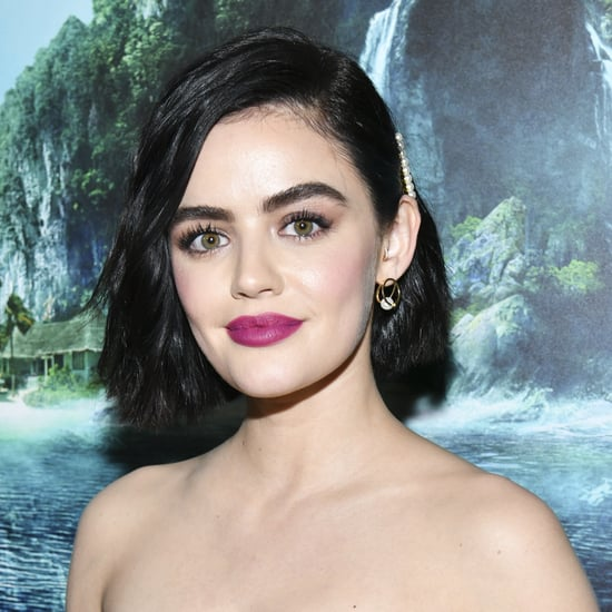 Lucy Hale Dyed Her Hair a Honey-Blond Color