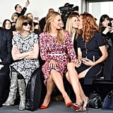 Blake and Robyn Lively at New York Fashion Week 2017