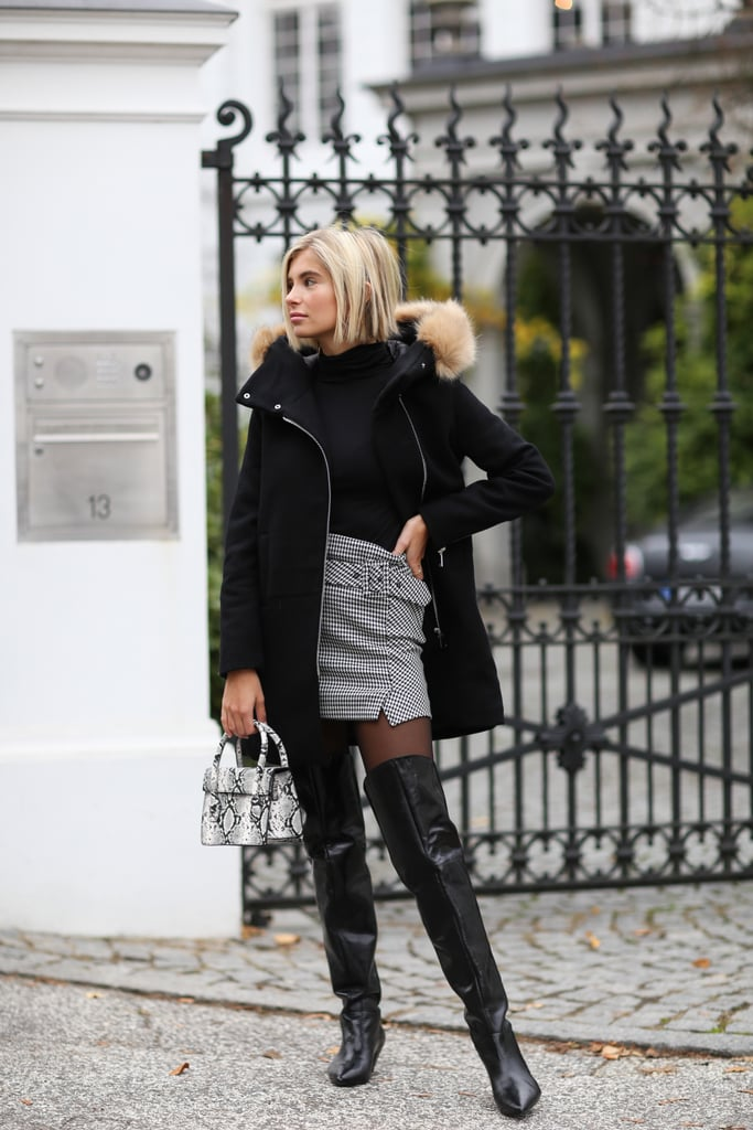 Under Over-the-Knee Boots