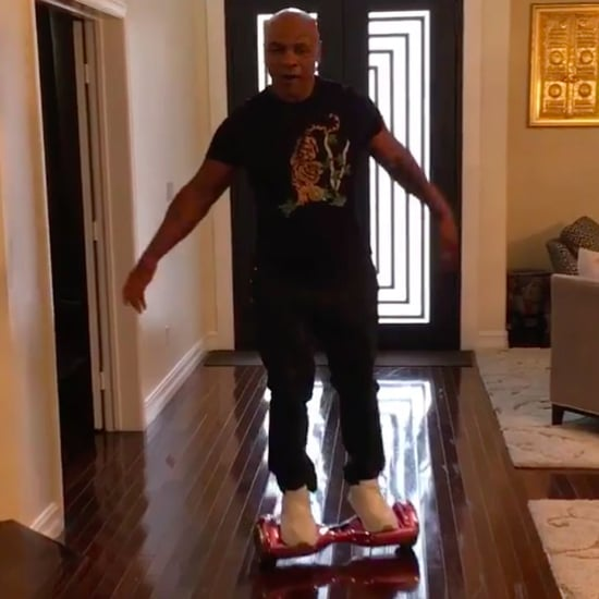 Mike Tyson Falls Off Hoverboard Video