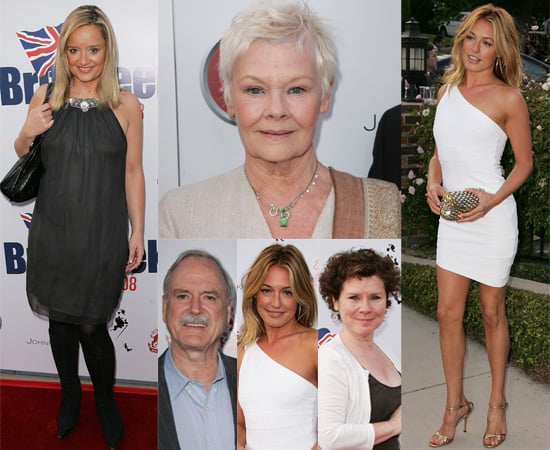 Cat Deeley, Judi Dench, John Cleese and Lucy Davis At BritWeek 2008 Launch