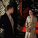 Ed Westwick as Chuck Bass and Leighton Meester as Blair Waldorf on Gossip Girl. Photo courtesy of The CW