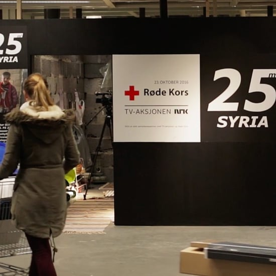 IKEA Recreates Syrian Home