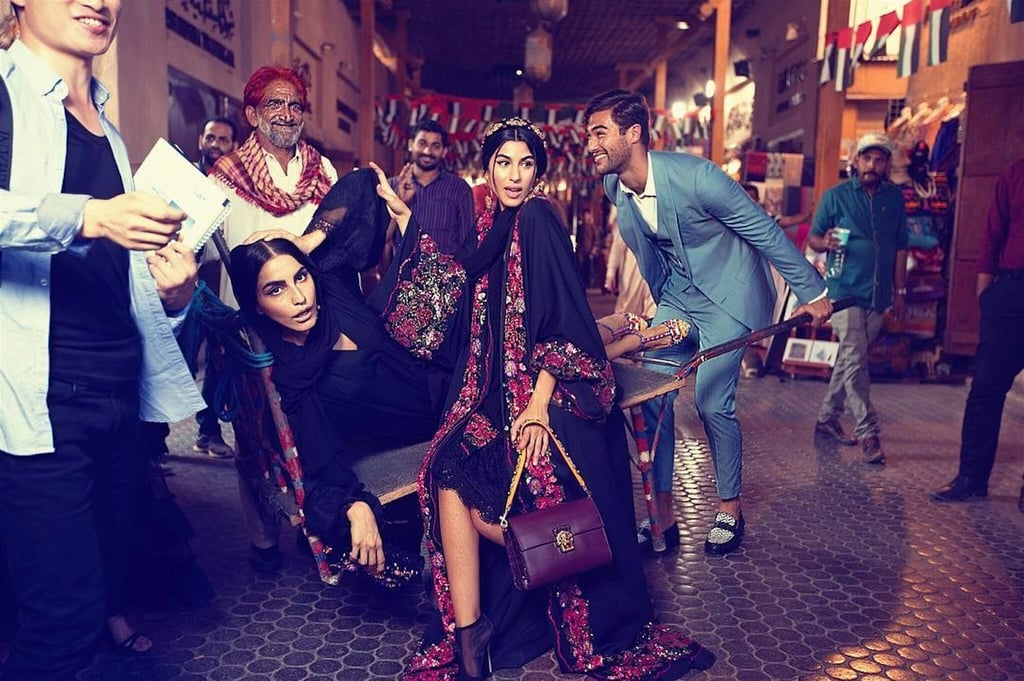A Dubai Souk is the Star of Dolce & Gabbana's New Abaya Collection Campaign