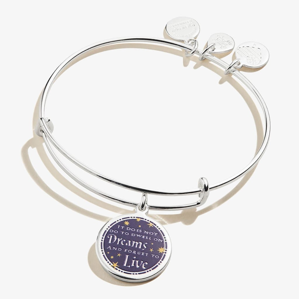 Harry Potter It Does Not Do to Dwell Charm Bangle