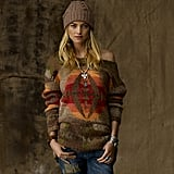 We love the slouchy shape and cozy print.  Beacon Crewneck Sweater ($298)