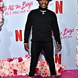 Trezzo Mahoro at the P.S. I Still Love You Premiere in LA