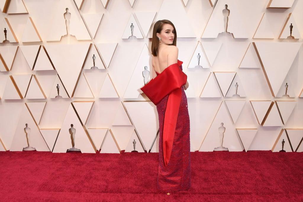 كاتلين ديفر في حفل توزيع جوائز الأوسكار 2020