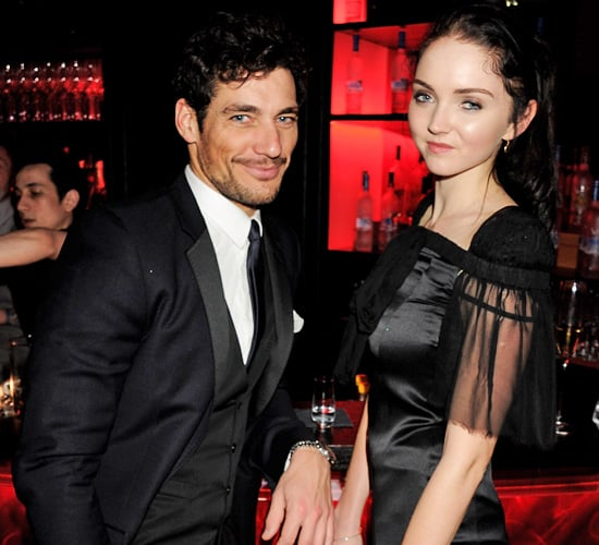 David Gandy and Lily Cole Are Possibly Dating
