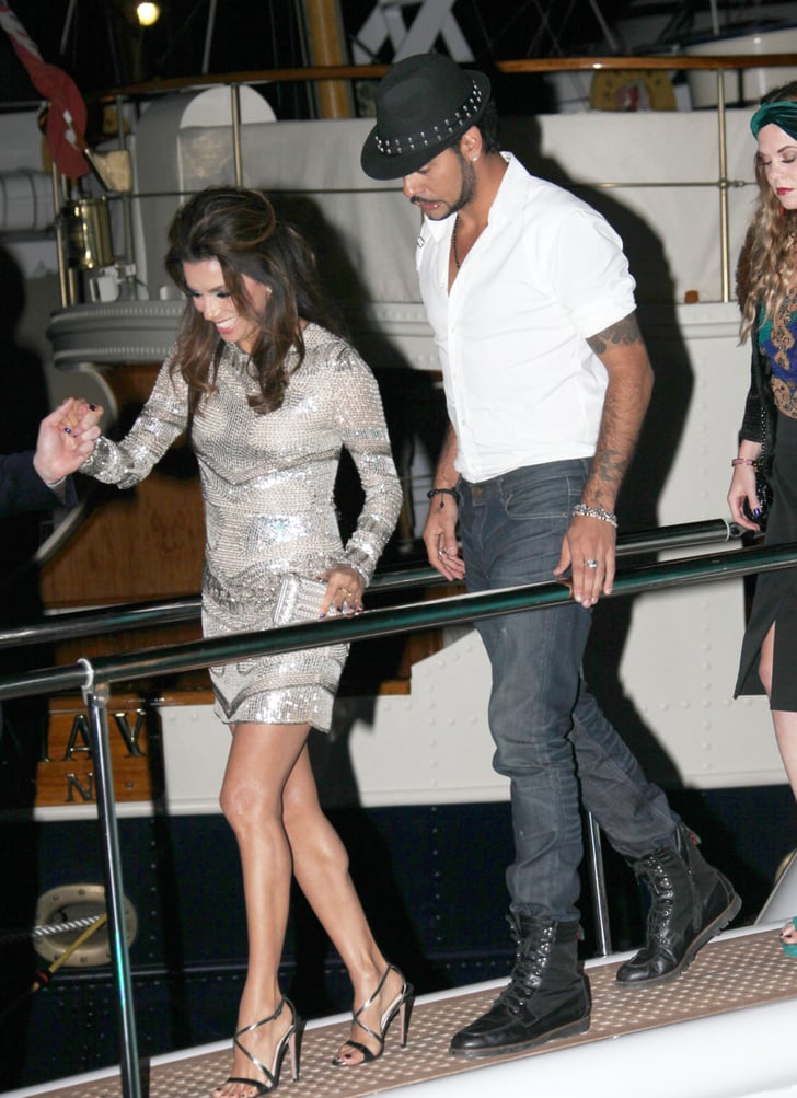Eduardo Cruz Joins Eva Longoria at Cannes