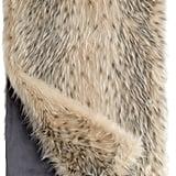 Faux Fur Throw ($199)