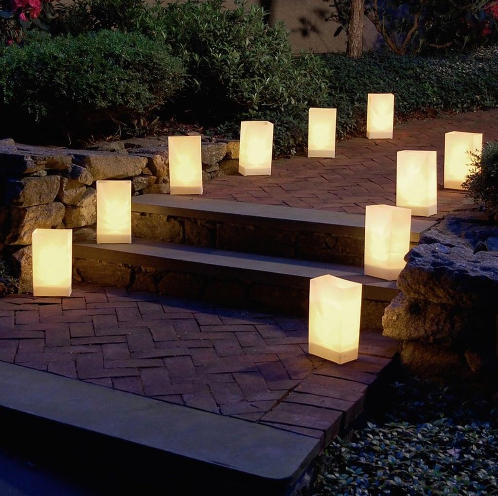 Plastic Luminaria Lanterns Halloween Porch Decor From Target Popsugar Home
