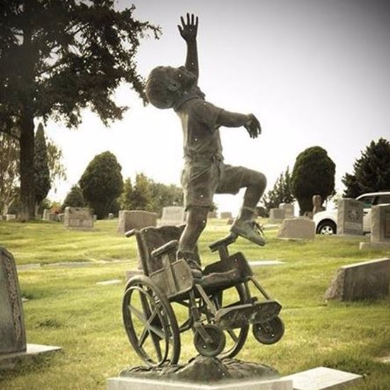 Dad Designs Tombstone For Late Son Who Was Paralyzed
