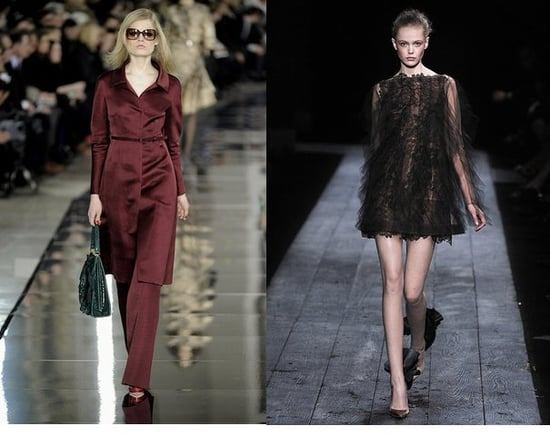 Valentino Goes Short, Wispy and Black For Couture