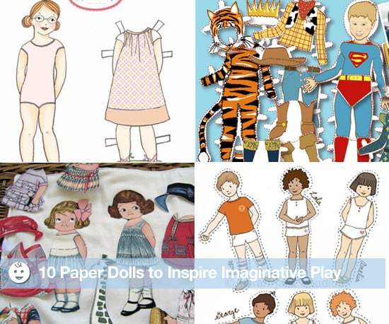 Paper Dolls For Boys and Girls