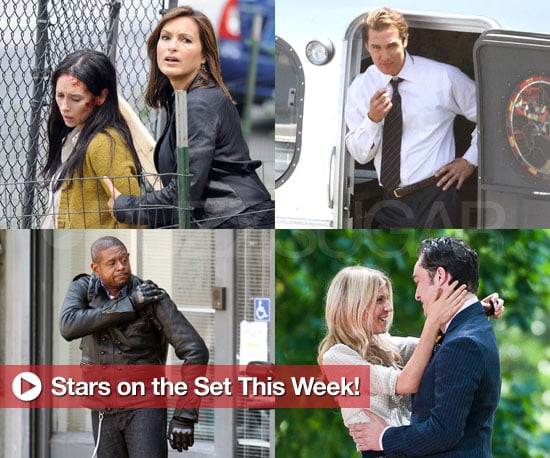 Pictures of Matthew McConaughey, Maya Rudolph, Shane West, and More in Stars on the Set This Week!