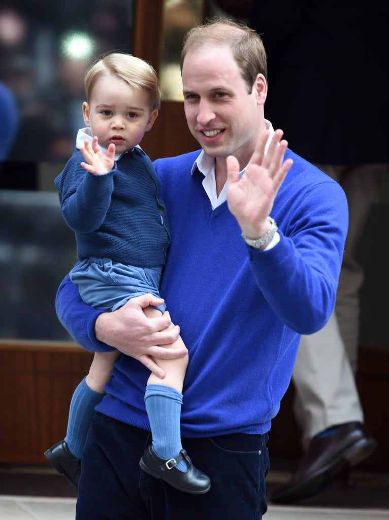 The world pretty much squealed with delight when William arrived with George to introduce him to his new baby sister.