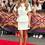Neon-hued Phillip Lim separates made Cheryl stand out at the X Factor Wembley auditions in 2014.