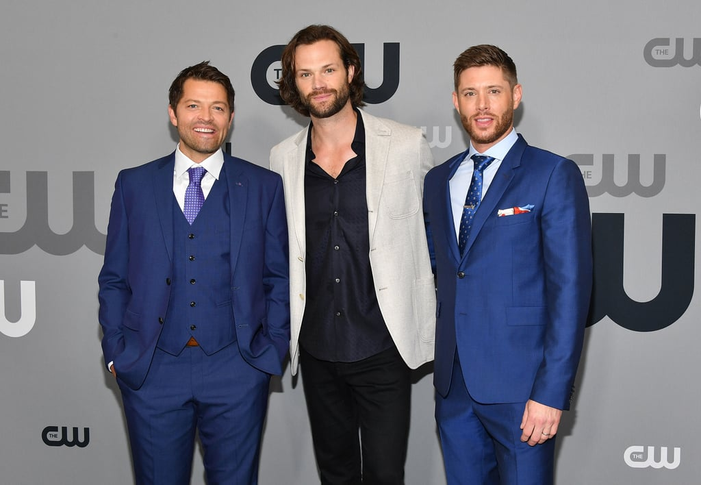 "Jensen Ackles, Jared Padalecki, and Misha Collins all stepped out for the CW Upfronts in NYC to promote their show, Supernatural, on Thursday, and boy, do they clean up nicely. Not only did the trio clearly color-coordinate their outfits, but the guys also showed off their adorable bromance and picture-perfect smiles as they struck fun poses for the cameras. Unfortunately, they didn't bring their other halves this time around. Supernatural is closing out its 13th season tonight (yes, 13th!), but don't worry, it's not ending anytime soon. While attending the LA PaleyFest back in March, Misha confirmed that there's currently no end in sight. ""We're full steam ahead right now. We're loving it while we're going, and we don't know when it ends,"" he said. ""But it doesn't end right now."" Phew! Now we can all breathe a sigh of relief.  Related: The 33 Best Moments From Jensen and Jared's Supernatural Bromance"
