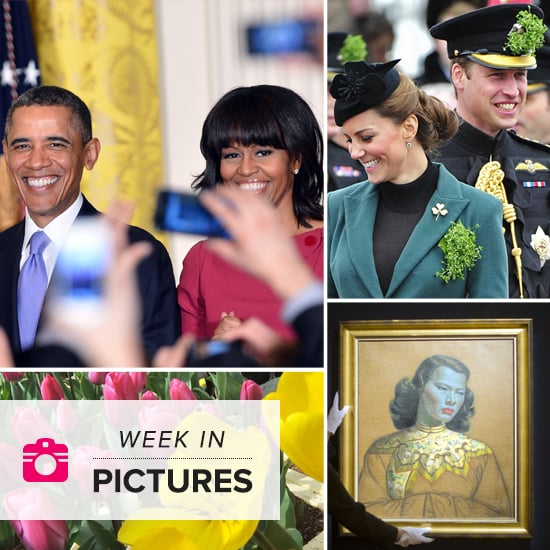 Will and Kate Go Green, the Obamas Honor Women, and Iconic Art Takes the Spotlight