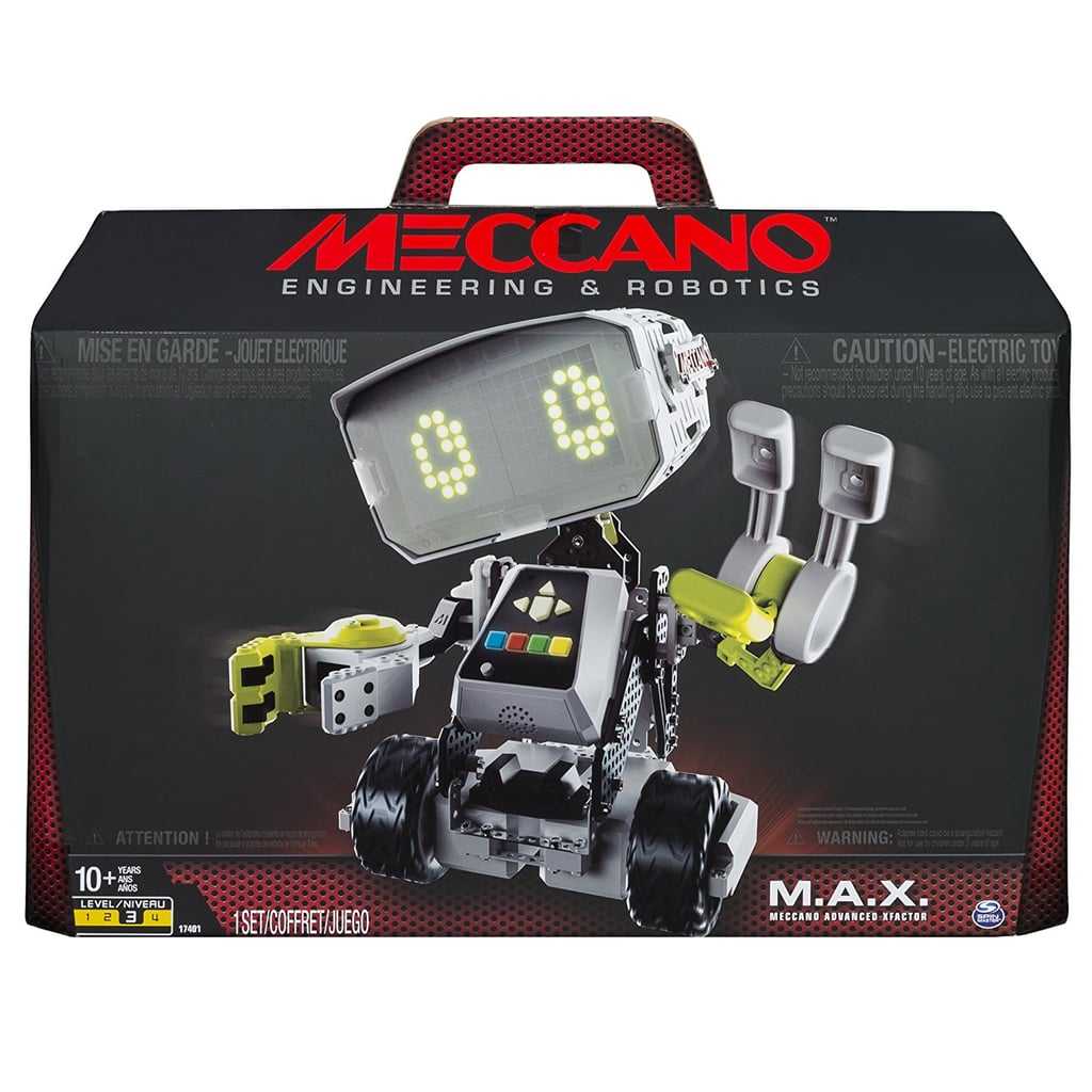 Meccano-Erector M.A.X. Robotic Interactive Toy With Artificial Intelligence