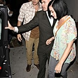 Katy Perry and John Mayer on a Dinner Date at Little Door