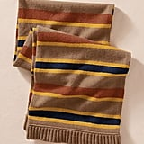 It has a very old-fashioned feel, both in color palette and in striped pattern, but we're particularly digging the menswear-inspired tilt to this Lands' End Canvas Lambswool Striped Scarf ($50).
