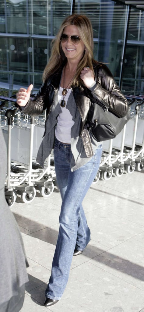 Photos of Aniston in London