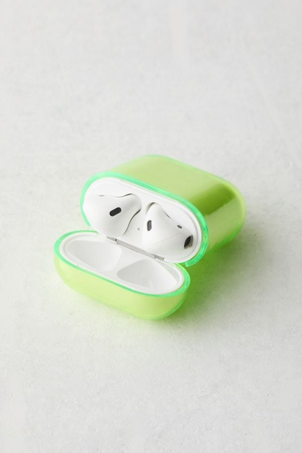 Urban Outfitters Neon Hard Shell AirPods Case