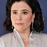 Alex Borstein at the Emmys in 2018