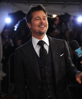 Photo of Brad Pitt Who Donated $100,000 to Fight California's Proposition 8