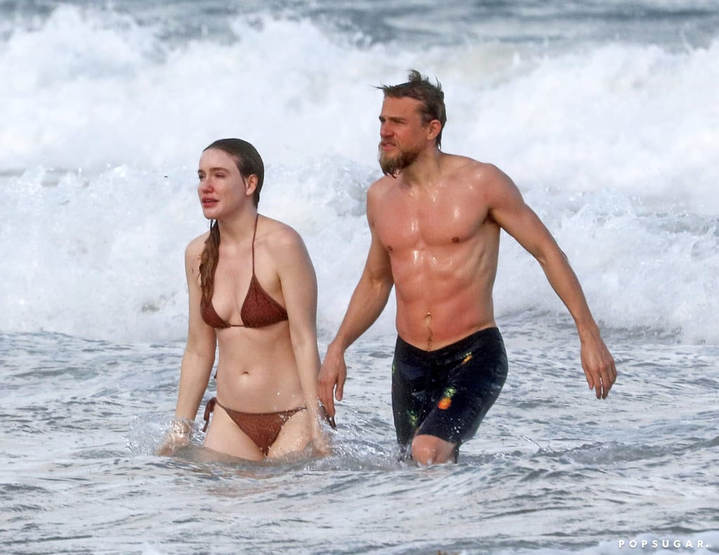 """Summer may be over, but Charlie Hunnam is clearly not ready to let go. The actor recently touched down in Tulum, Mexico, and on Tuesday, he hit the beach with girlfriend Morgana McNelis. Charlie showed off his sexy muscular body as he splashed around in the ocean, while Morgana soaked up some rays. The following day, Charlie and Morgana had a little fun in the water as they shared a few laughs and Morgana held onto Charlie's hand. Charlie and Morgana have been going strong for 12 years now. Back in 2017, Charlie opened up about the secret to their long-lasting romance during the Toronto International Film Festival. """"I try to keep the romance on the reg,"""" Charlie explained. """"I've been with my girlfriend 11 years, and as anyone knows, it's been a long-term, fully monogamous relationship that requires work, a lot of work."""" See Charlie and Morgana's romantic getaway ahead!      Related:                                                                                                           You'd Better Sit Down — These 100 Charlie Hunnam Pics Are Achingly Sexy"""