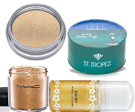 Gold Body Glitter