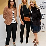 Emily Sheffield and Gwyneth Paltrow attended Vogue's Fashion's Night Out party at the Coach Bond Street store in London.