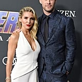 Pictured: Elsa Pataky and Chris Hemsworth