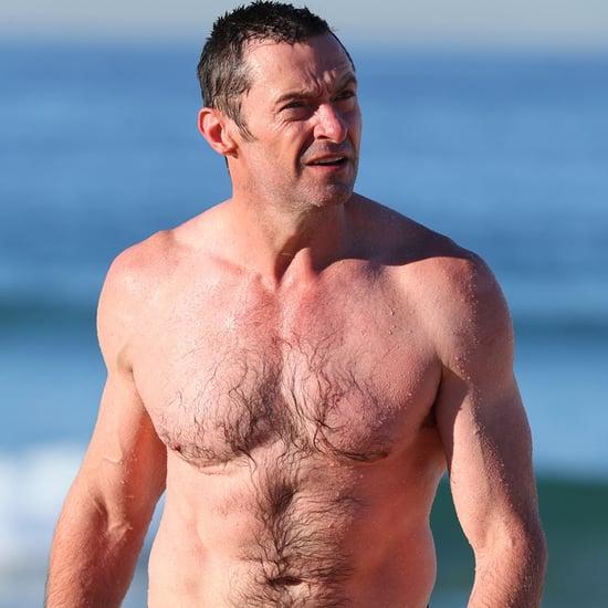 Hugh Jackman Shirtless in Australia Pictures August 2016