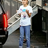 But Her Off-Duty Look Is Casual Cool