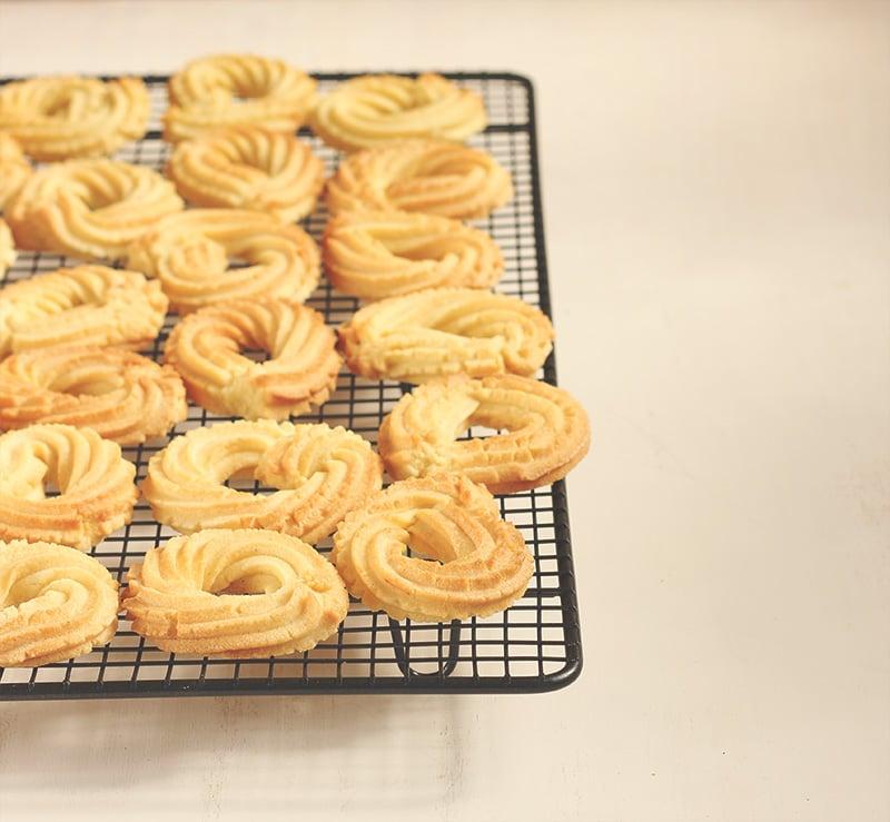 Denmark: Danish Butter Cookies