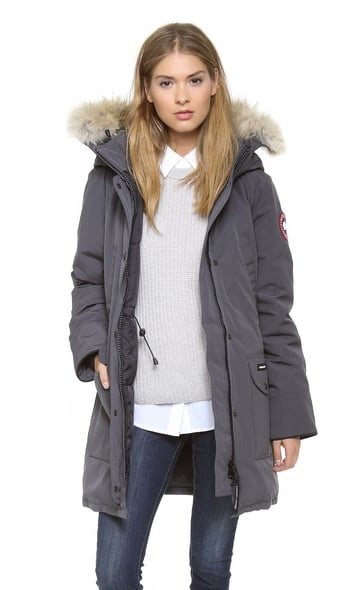 Everybody: we're heading into the really, really, really cold time of the year. You need a jacket that will stand up to the bitter cold when all you want to do is stay in bed. This Canada Goose piece ($650) should do the trick.  — RK