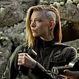 And Cressida in The Hunger Games: Mockingjay — Parts 1 and 2