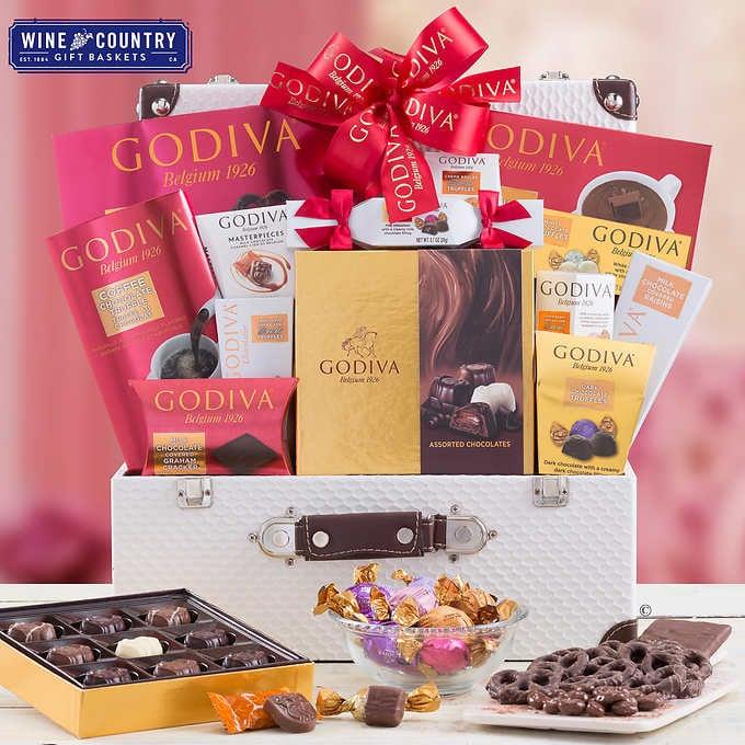 Godiva Chocolatier Valentine's Day Trunk