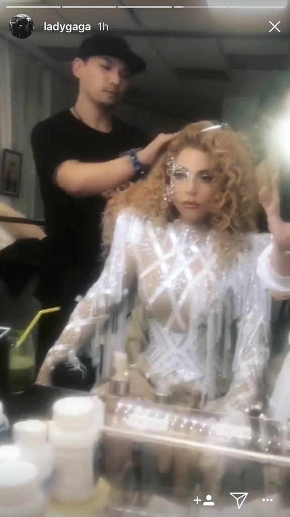 Lady Gaga's Fringed AMAs Outfit Is Super Sheer and Devastatingly Sexy