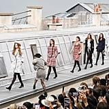 Gigi Hadid Escorts Crasher Off Chanel Runway in Paris